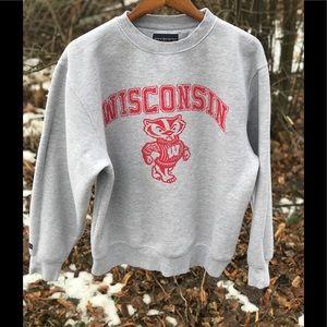 JanSport Wisconsin Badgers Crewneck